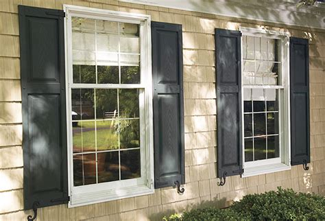 shutters accent building products home page raised panel vinyl shutters stock sizes accent