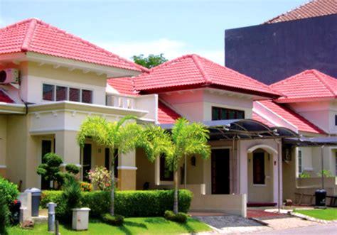 desain warna cat atap rumah gambar kumpulan desain warna genteng rumah minimalis indah