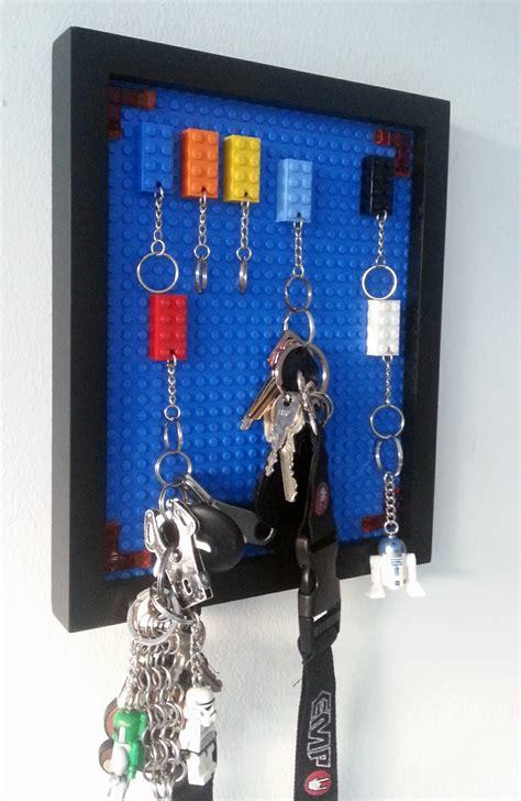 lego ideen zum nachbauen lego schl 252 sselbrett einfach und bunt handmade kultur