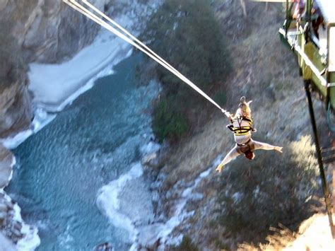 canyon swing new zealand canyon swing queenstown photo