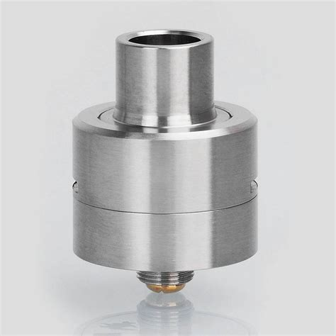 Helios M Plastic Rda Rebuildable Atomizer sxk m atty style rda silver 316ss 22mm rebuildable atomizer w bf pin