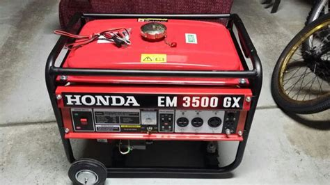 3500 watt honda generator honda generator 3500 watts like new tools machinery in
