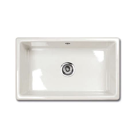 undermount ceramic kitchen sinks shaws of darwen classic inset 760 inset or under mount