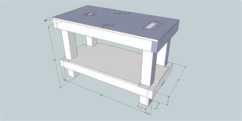 table saw bench plans mobile table saw router table plans woodideas