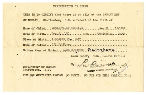 South Carolina Birth Records Barack Obama Sr And Birth Certificates In South Carolina