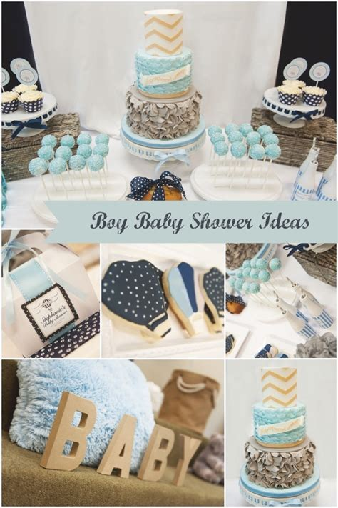 Up and Away: Hot Air Balloon   Elephants Boy Baby Shower   Spaceships and Laser Beams