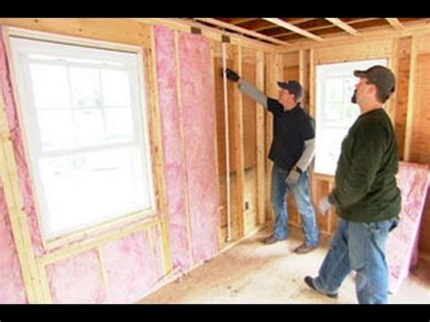 Fibreglass Insulation In Basements Is How To Install Fiberglass Insulation This Old House