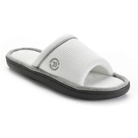 kohls mens bedroom slippers slippers all new kohl s isotoner slippers for women