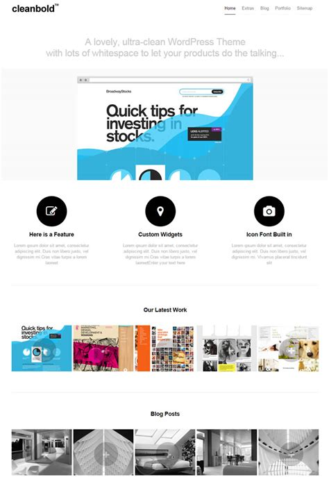 theme wordpress ultra simple 15 best ultra minimal creative portfolio wordpress themes