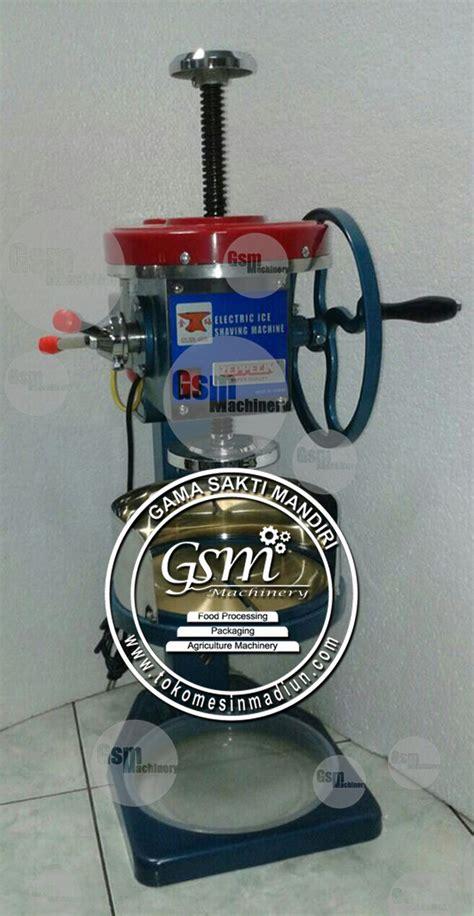 Mesin Es Serut Manual Dan Listrik mesin es serut pengoperasian manual dan listrik di madiun