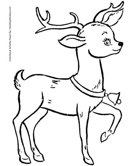 coloring pages of reindeer flying santa pictures to print santa s reindeer coloring sheet