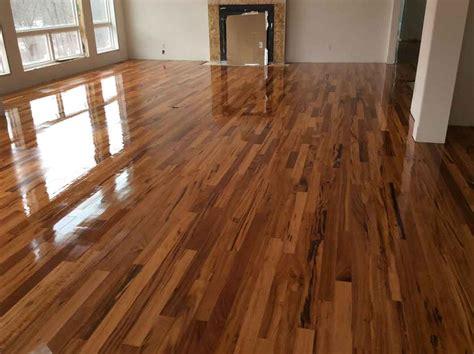 our work refinishing restoring and installing hardwood floors