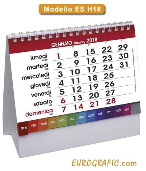 calendario da tavolo gratis calendari da tavolo e scrivania illustrati 2018 eurografic