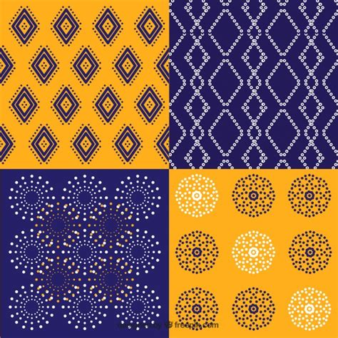 batik pattern vector ai pack of batik geometric patterns vector free download