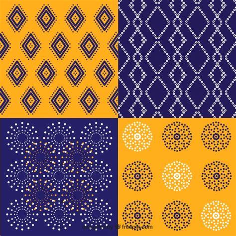 batik geometric pattern pack of batik geometric patterns vector free download