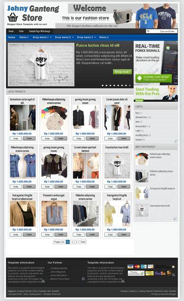 template toko online tanpa shopping cart 2 template toko online semrawut tanpa cart