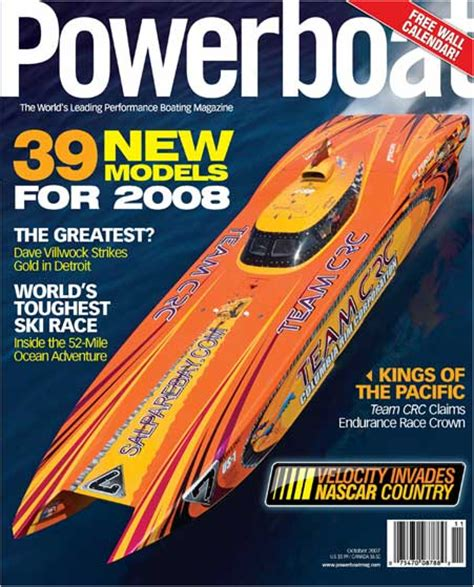 performance boats magazine powerboat mag performance test driver setup specialist