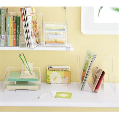 clear desk accessories clear desk accessories 11 99 for the home and office