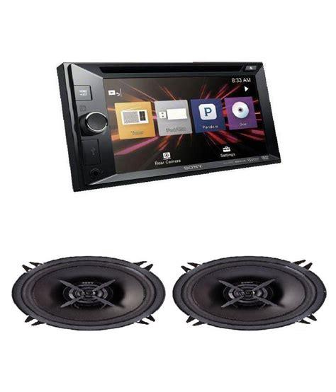 Touchscreen Gosco Combo S4023 1 sony combo of sony xav w600 din touch screen car dvd with sony xsfb162e 2 way mega bass
