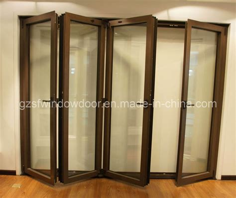 Folding Doors by China Aluminum Folding Doors Sfad011 China Aluminum