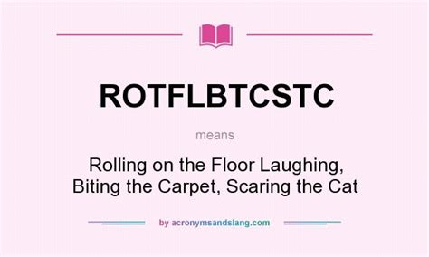 what does rotflbtcstc definition of rotflbtcstc