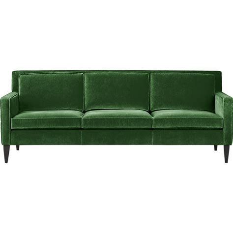 rochelle sofa in sofas crate and barrel house stuff
