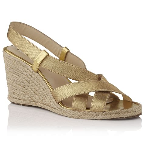 Wedges Lk 19 lyst l k lkbennett gardi elasticated wedge