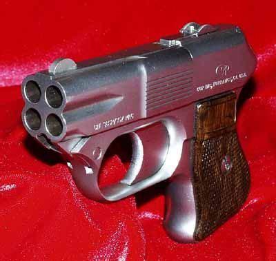 cop 357 derringer multiple barrel firearm. this derringer