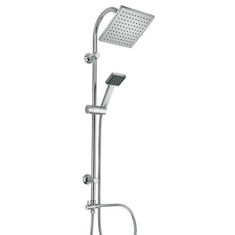doccino doccia colonna doccia regolabile soffione quadrato e doccino kv