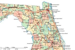 regional map of northern florida