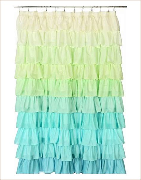 frilly shower curtain j adore shabby chic i ruffled shower curtains