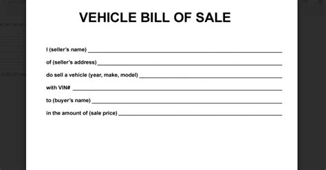 simple printable vehicle bill of sale deeauvil freebie friday simple free bill of sale