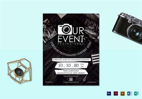 26 Free Download Event Flyer Templates In Microsoft Word Format Free Premium Templates Photography Flyer Template Word