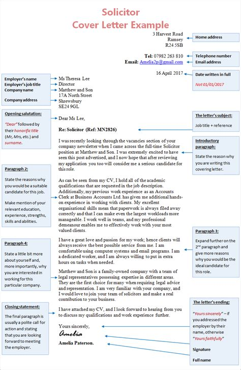 trainee solicitor cover letter solicitor cover letter