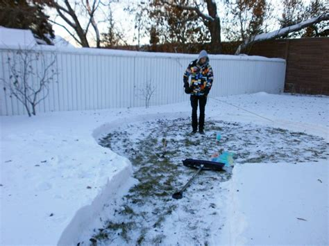 how to make an igloo in your backyard man builds amazing igloo using frozen milk cartons