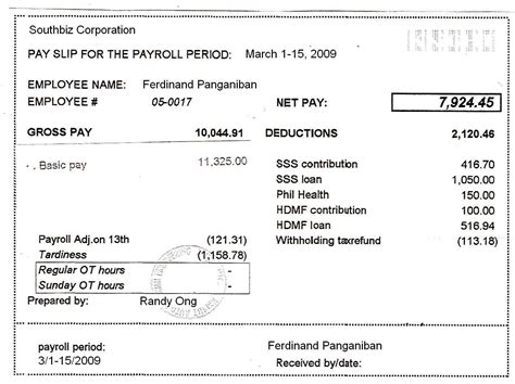 payslip template philippines pin payslip format philippines this is your indexhtml page