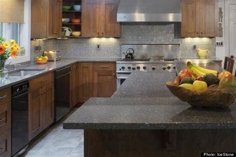 Sustainable Countertop Materials by Five Green Kitchen Countertops Huffpost