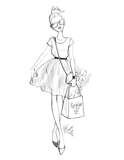 fashion illustration easy how should i wear a tulle skirt the style confessions