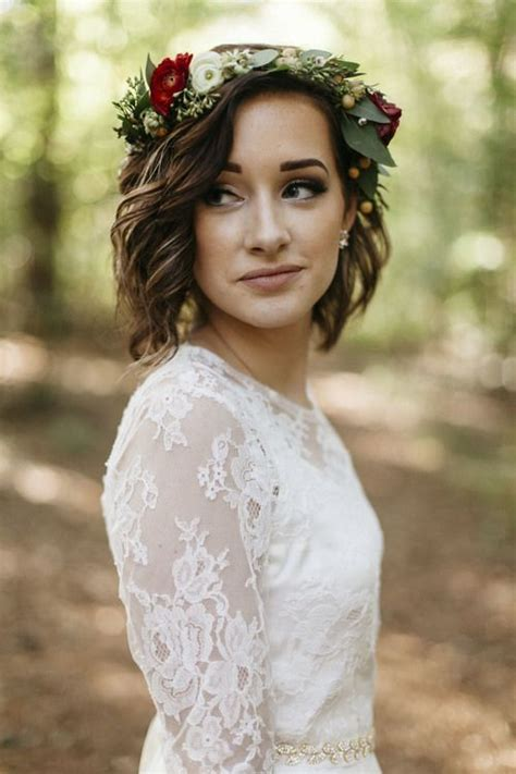 Wedding Hairstyles For Medium Brown Hair by 35 Modern Wedding Hairstyles For Hair