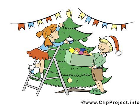 adventsbild kinder und weihnachtsbaum