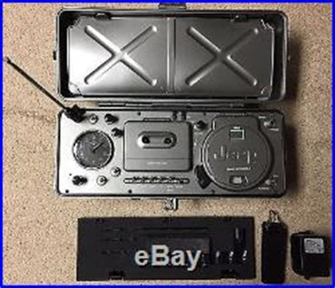Jeep Portable Radio Jeep Boombox Jxchr Portable Radio Cd Am Fm Radio