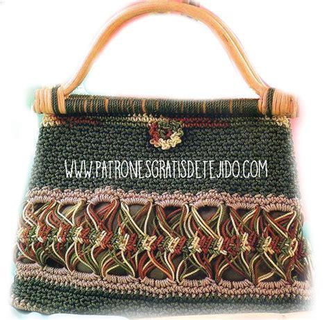 ideas y esquemas para tejer bolsos o carteras el blog de 3 bolsos para tejer con ganchillo crochet y dos agujas