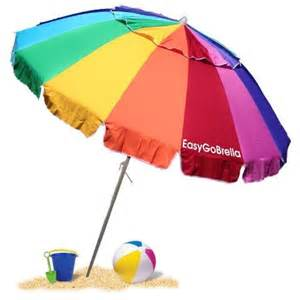 Easygo beach umbrella 8 ft beach umbrella patio amp outdoor decor