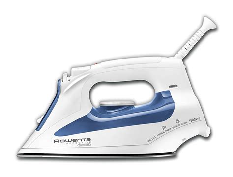 rowenta comfort iron rowenta dw2070 effective comfort steam iron with 300 hole