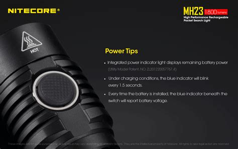 Nitecore Concept 1 Senter Led Cree Xhp35 1800 Lumens nitecore mh23 senter led cree xhp35 hd 1800 lumens black jakartanotebook