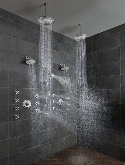 Black In The Shower by How To Mix Modern Traditional In The Bathroom Design Milk