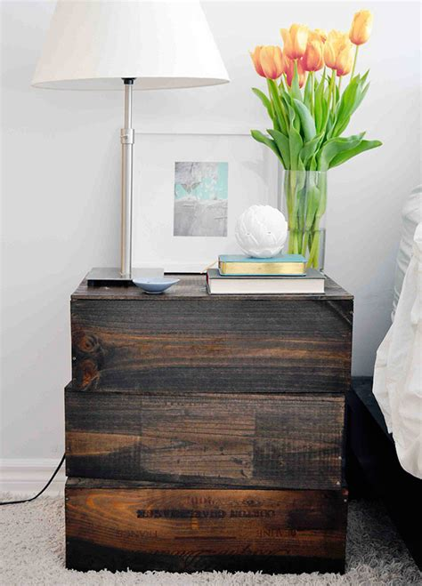 Creative Diy Nightstands 16 creative diy nightstand projects world inside pictures