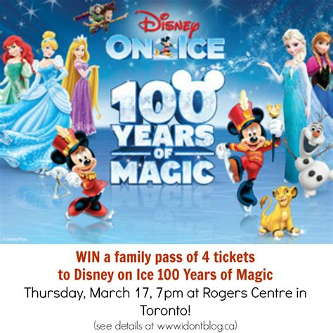 Family Disney On Ice100 Years Of Magic by Closed Win Disney On 100 Years Of Magic In Toronto