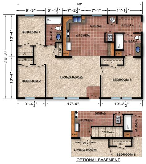 Builders Floor Plans Michigan Modular Homes 138 Prices Floor Plans