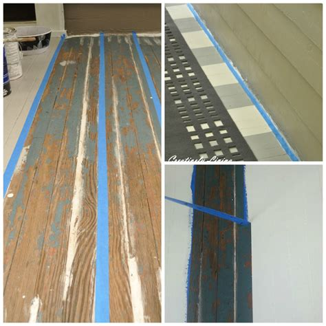 painting stripes on your porch hometalk